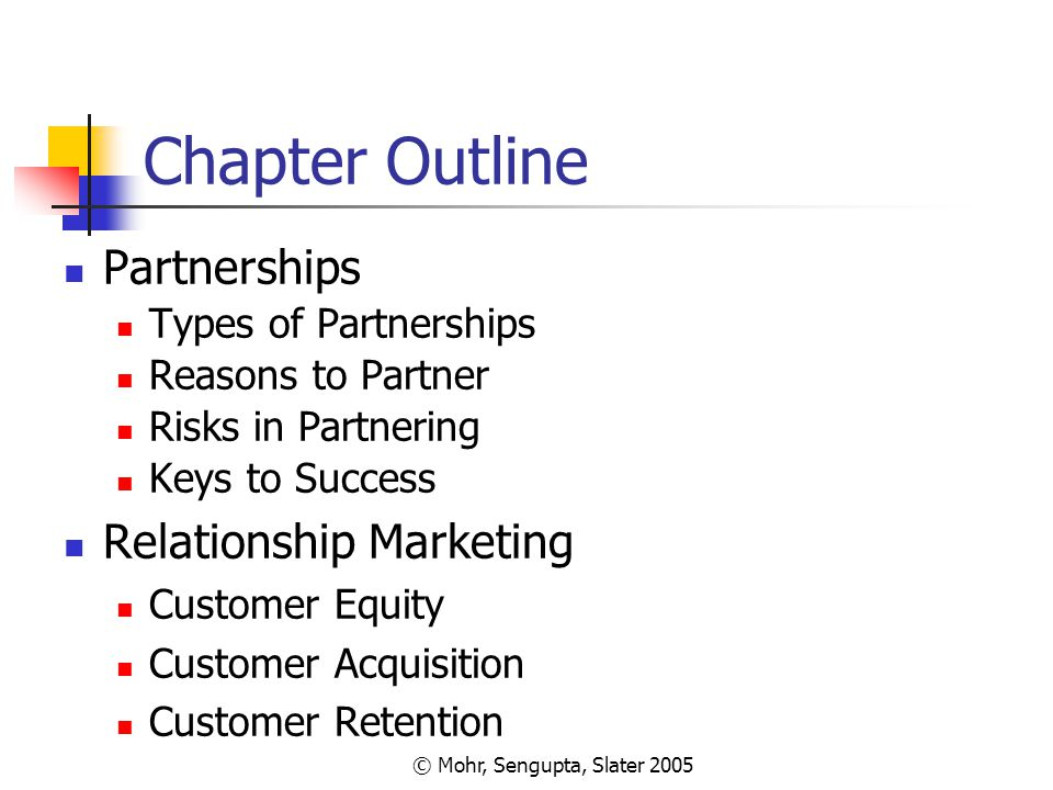 marketing chapter outline Mgmt211 - introduction to marketing spring, 2018  identify strategic alternatives and know a basic outline for a marketing plan  chapter 9: marketing research.