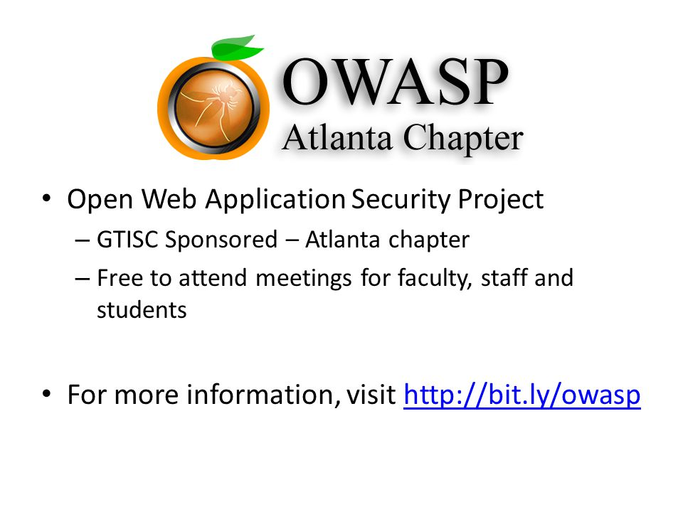 OWASP (Open Web Application Security Project)