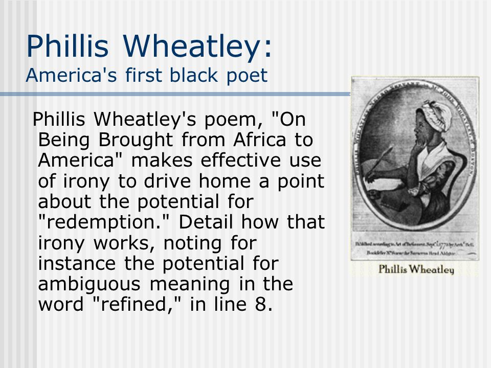 a biography of phillis wheatley the first published african american woman Candlewick biographies: the story of phillis wheatley  of how the first published african-american female poet the first african american woman poet.