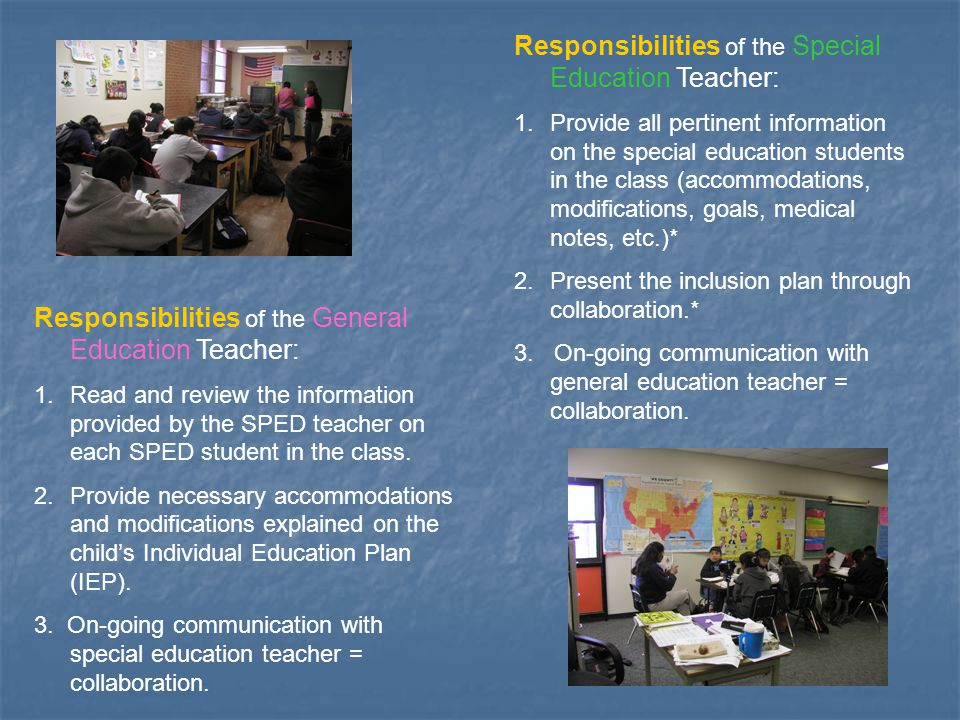 Collaborative Teaching For Special Education ~ Inclusion ppt download