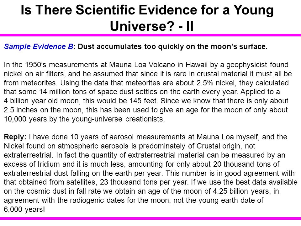 Is There Scientific Evidence for a Young Universe - II