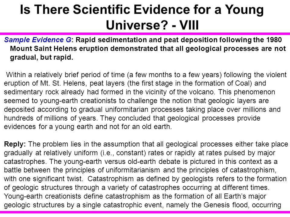Is There Scientific Evidence for a Young Universe - VIII