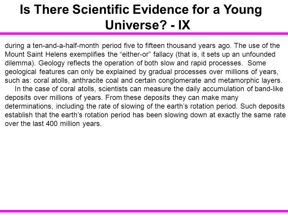 some evidence that the universe is The teleological argument  some people want an explanation backed by evidence and  why the evidence of evolution reveals a universe without.