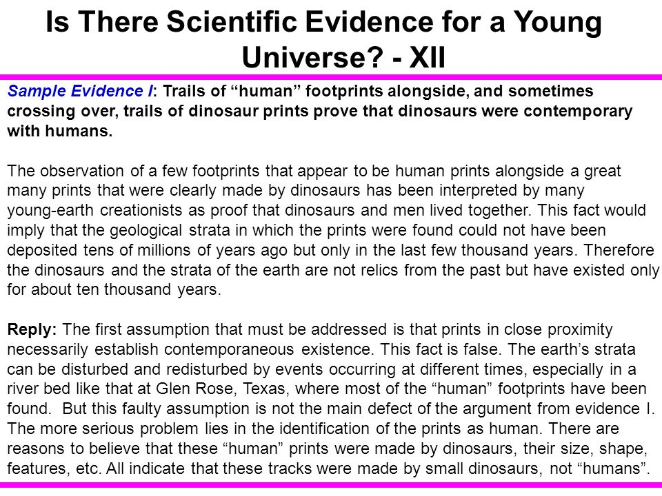 Is There Scientific Evidence for a Young Universe - XII