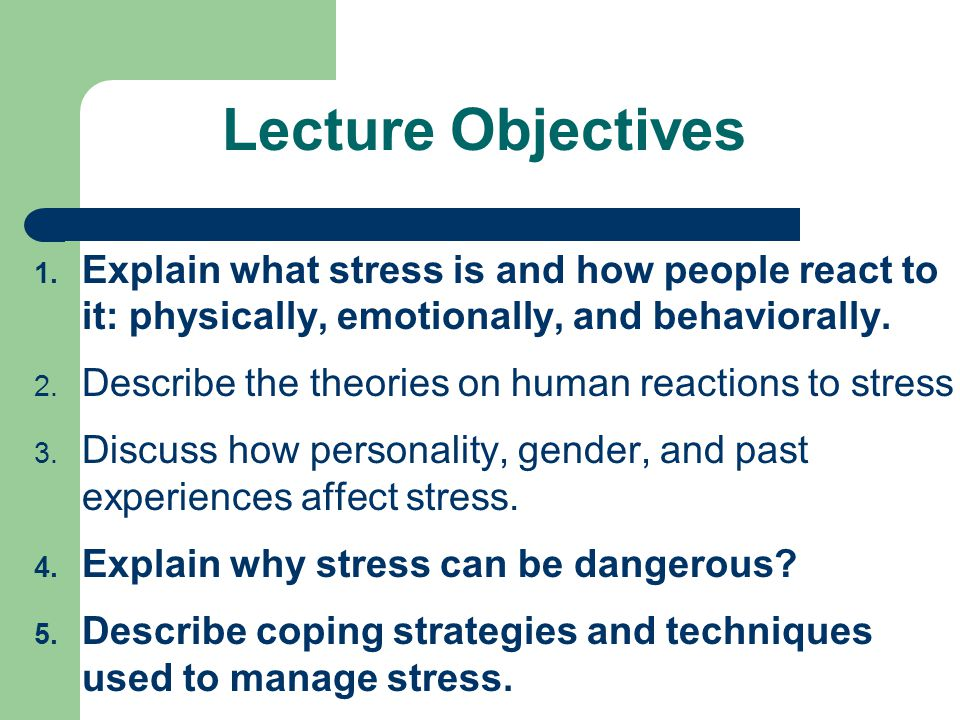 an overview of the personal coping method for emotional problems in class 2009-9-10 mon forms of emotional problems in young people  individuals with poor coping skills and high addictive potential how much is jean in denial about her alcohol.