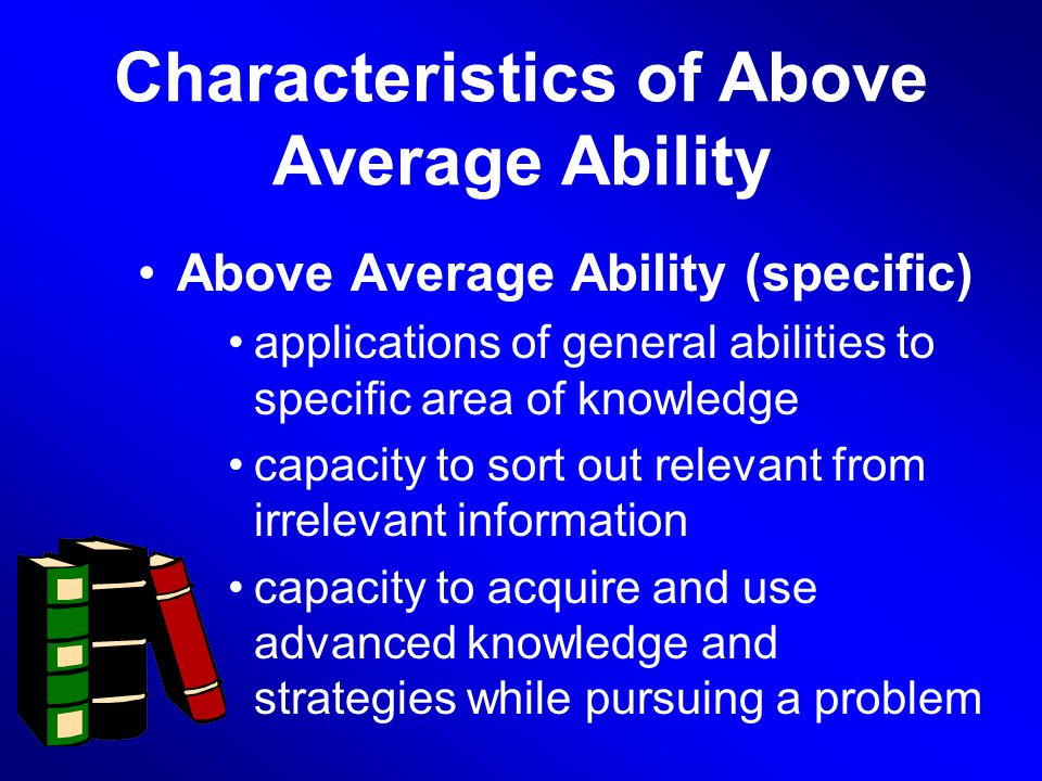 abilities that characterize creativity Creative abilities and creative thinking skills management by thomas eklund can we learn, train and manage both our creative thinking skills and creative abilities.