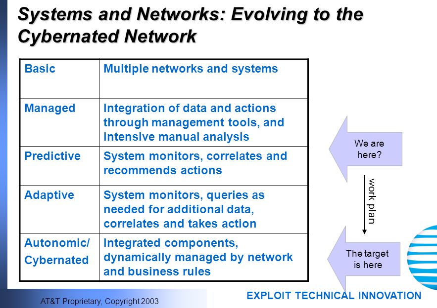 Systems and Networks: Evolving to the Cybernated Network