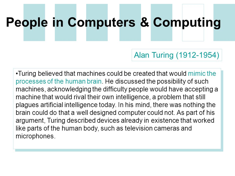 an argument that computers mimic the human mind Google is building its very own artificial brain using tens of thousands of computers, hoping to improve stuff like voice and image search and facebook.