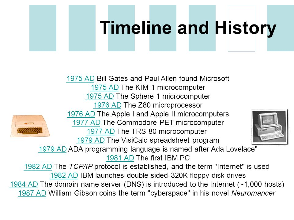 history of computing leen