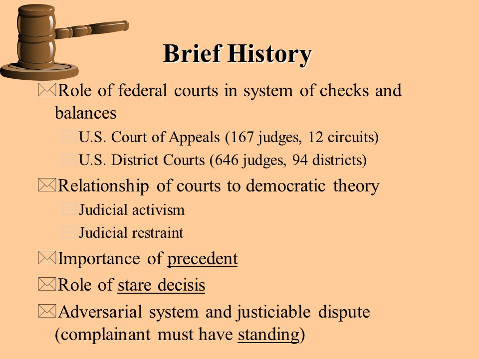 Judicial Restraint >> The Judicial Branch Article III of the Constitution Judicial power - ppt video online download