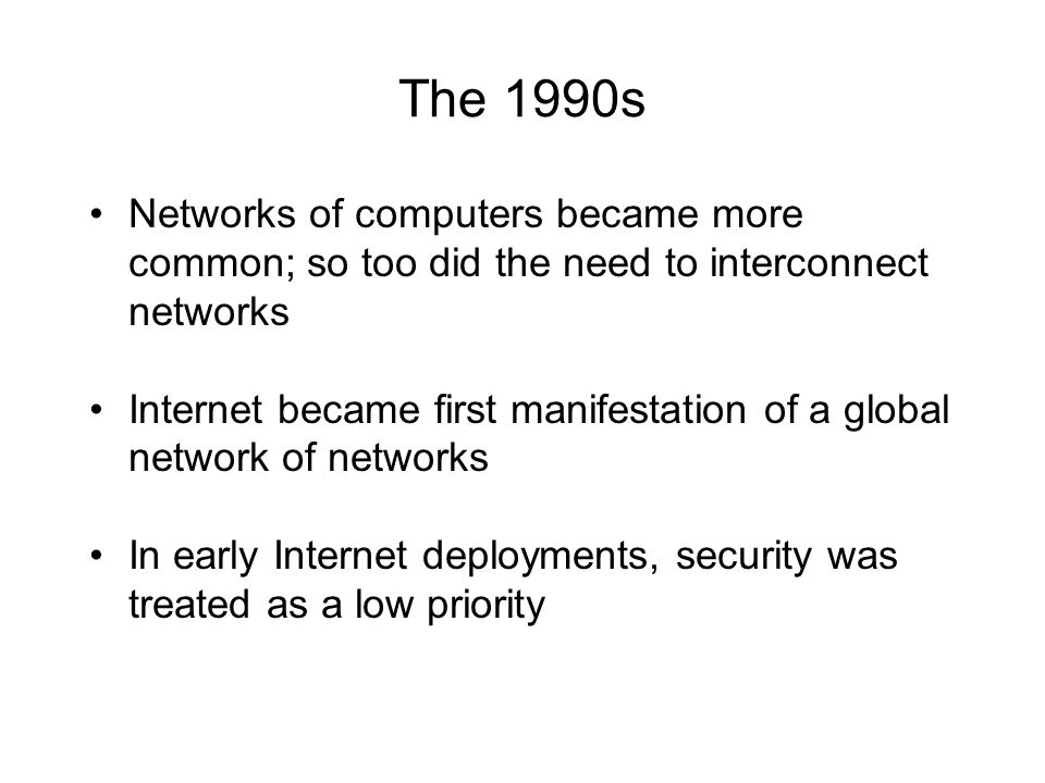 an introduction to the rise of the networks Society and economies that create network effects that are pervasive in the  introduction to digital technologies  the rise of technological ecosystems 9.