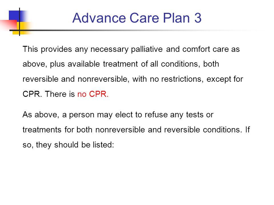 Advance Care Plan 3