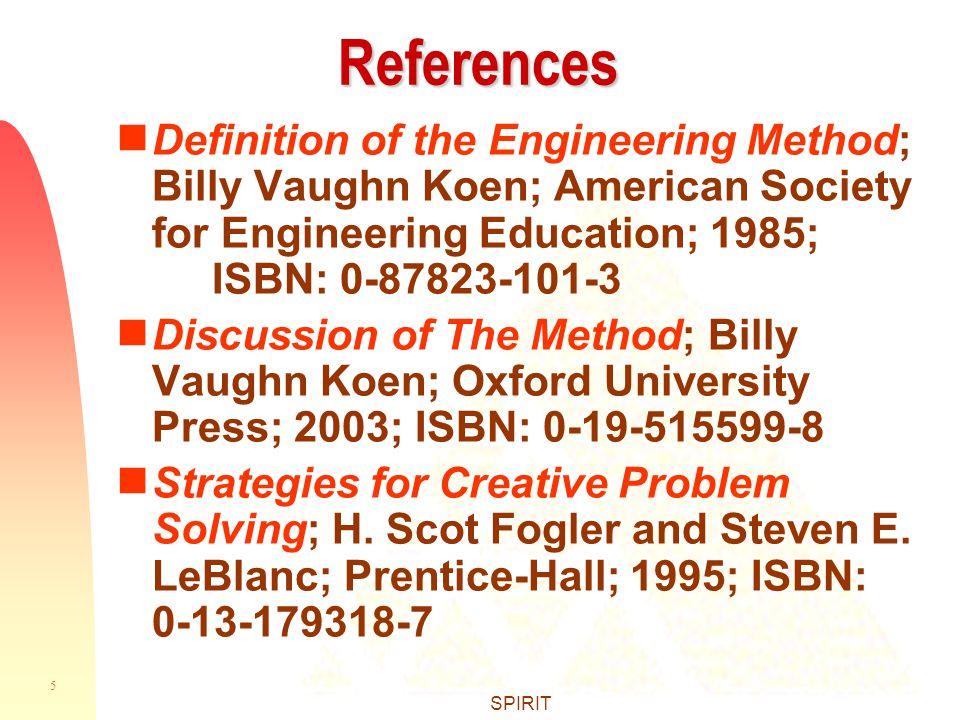 Gather The Information Engineering Design Method