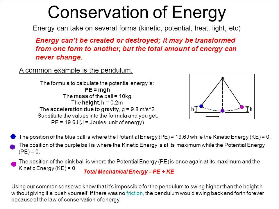 Chapter 7 Energy, Part... Mechanical Energy Formula Calculator
