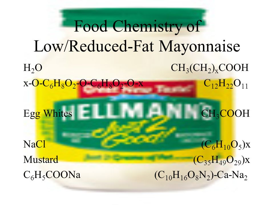Low Fat Mayonnaise Private Label Ventura Foods