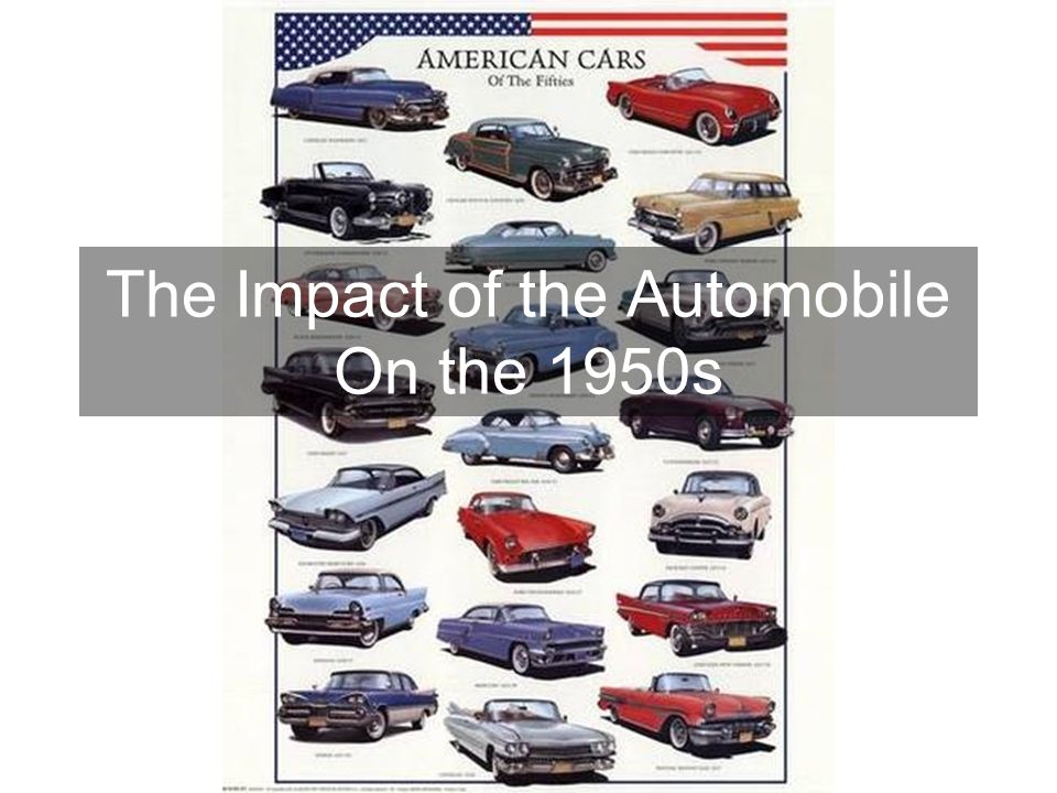 impact of the automobile essay The automobile has had the greatest effects on our lives in last two hundred years because it is a necessity, it has an important effect on the world economy and it.