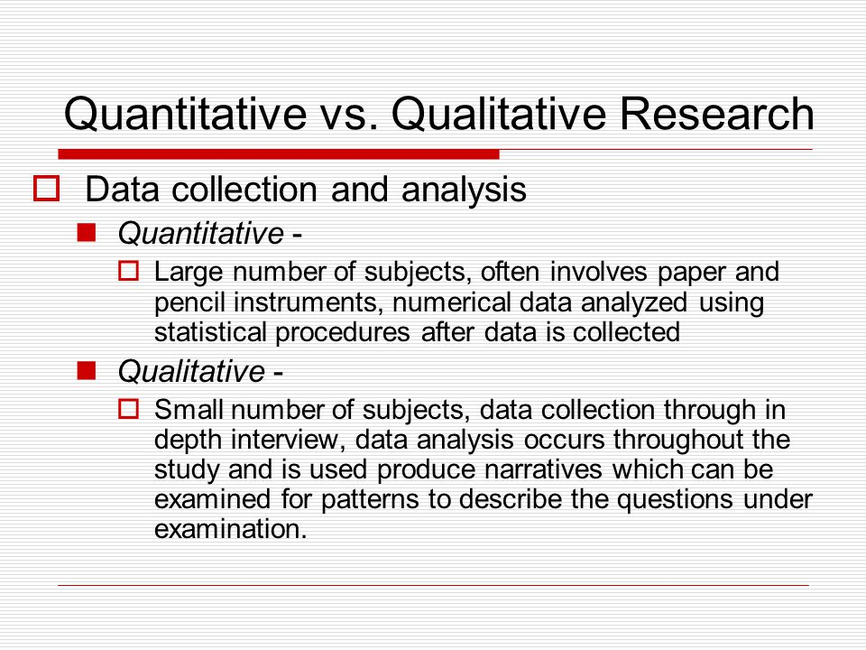 quantitative and qualitative data essay Free essay: qualitative and quantitative study designs both can be beneficial in research design they both provide valuable options for researchers in the.