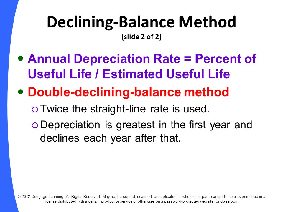 annual depreciation rate Learn more about useful life and depreciation including fixed asset depreciation & accounting and the estimated useful life  / 20 years = $1075 annual depreciation.