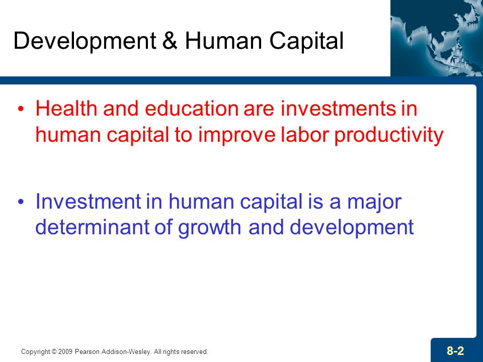 Human Capital: Education and Health in Economic ...