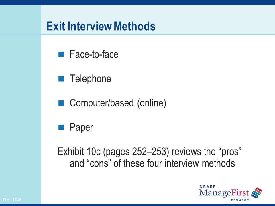 interview and rating method Behavioral interview techniques – the star approach situation or task describe the situation that you were in or the task that you needed to accomplish.