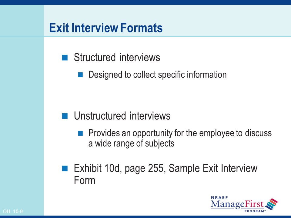 Managing Voluntary Terminations - Ppt Video Online Download