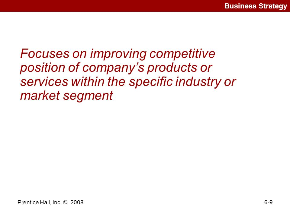 the importance of a competitive market strategy Role of relationship marketing in competitive marketing strategy nagasimha kanagal indian institute of management, bangalore abstract competitive marketing strategy (cms) has relationship marketing (rm) as one of the  an important component of firm's marketing strategy is relationships.