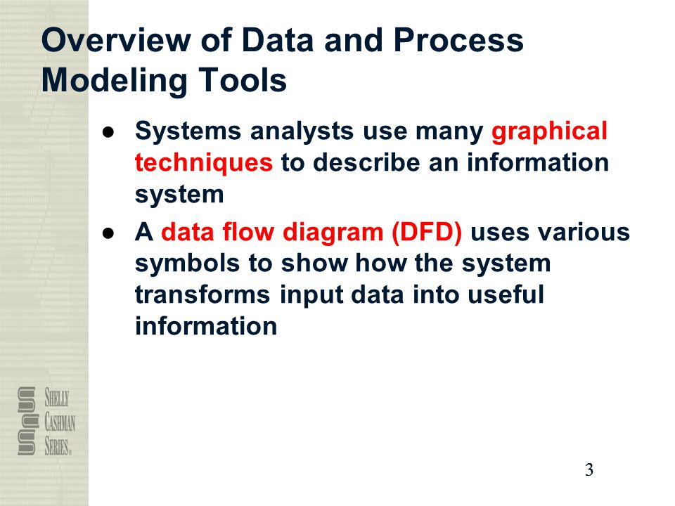overview of data and process modeling tools - Dfd Tools