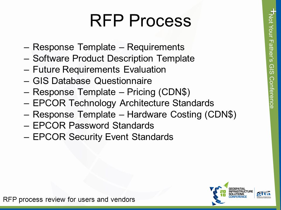 Rfp Process Review For Users And Vendors - Ppt Video Online Download