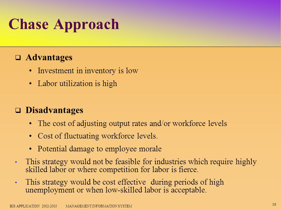 strategic advantages and disadvantages of the operational management approaches Although there are many advantages to strategic management,  there are also disadvantages the strategic management process  planning and short-term operational.