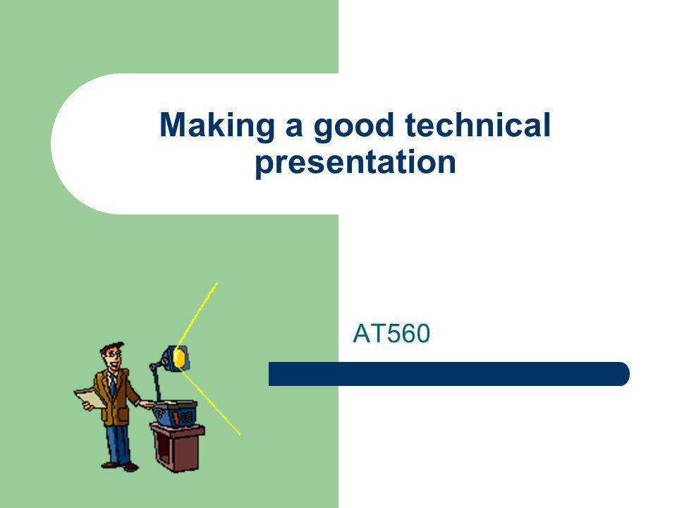 how to make a good visual presentation