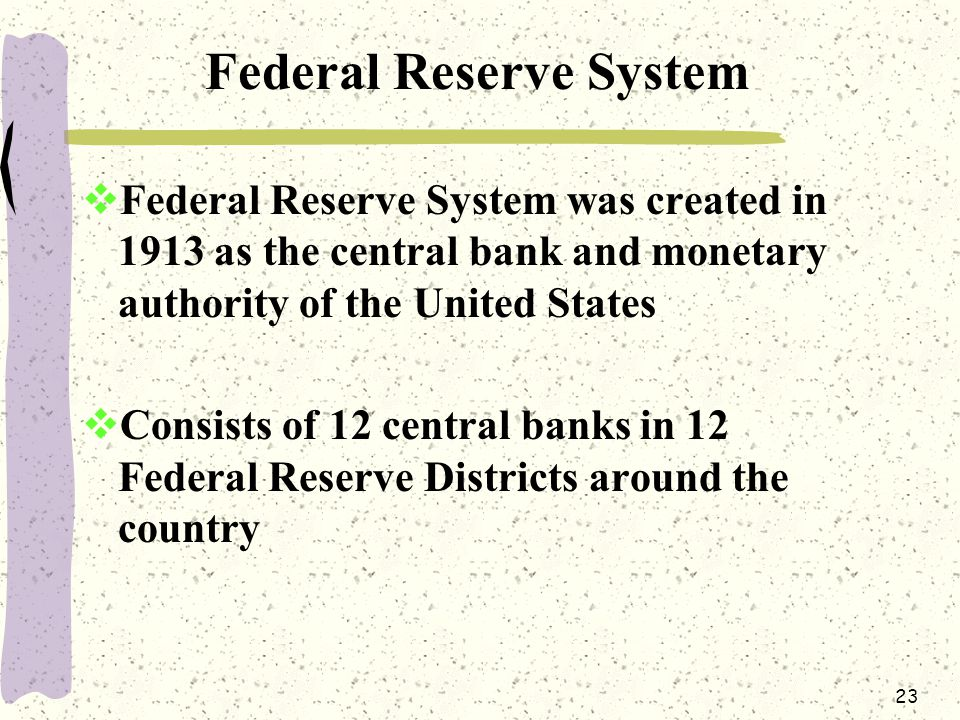 What is the Fed?