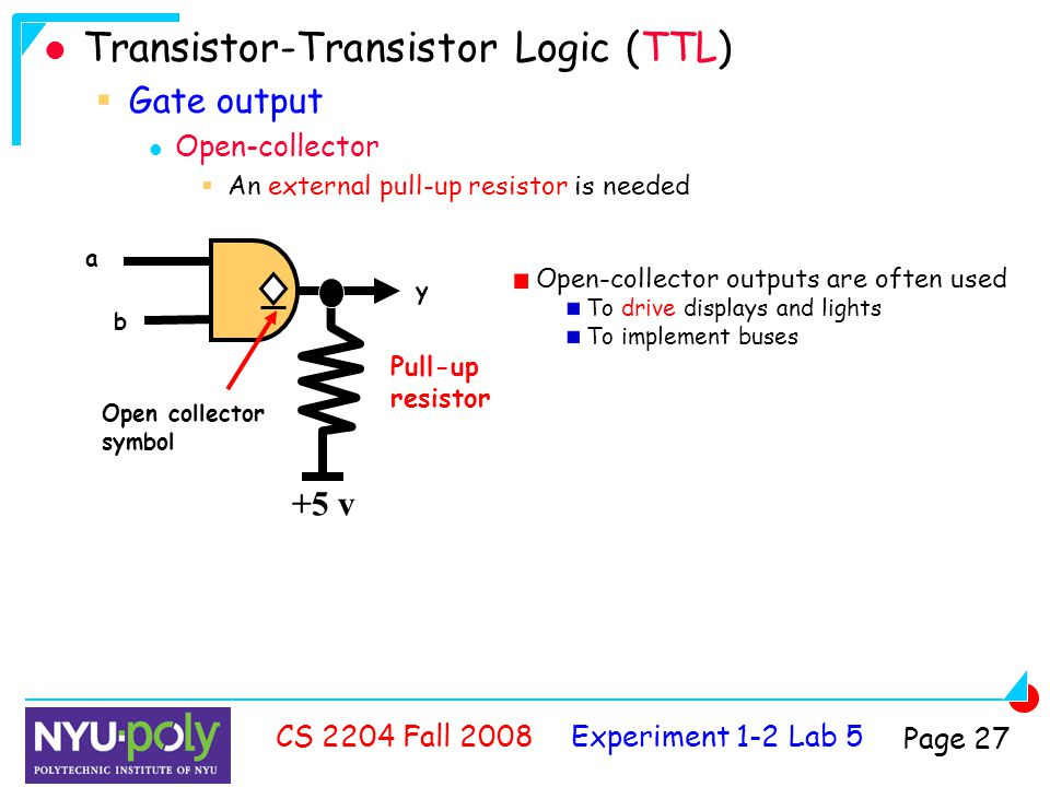 analyzing and familiarizing with the operations of ttl logic gates Btech - eee - 2012 - (c)  gates, logic and arithmetic subsystems,  strings, bit vectors, standard logic arrays, array operations and records.
