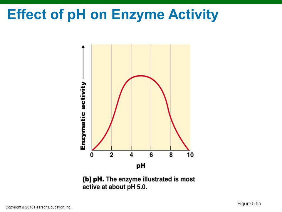 The effects of ph and concentration