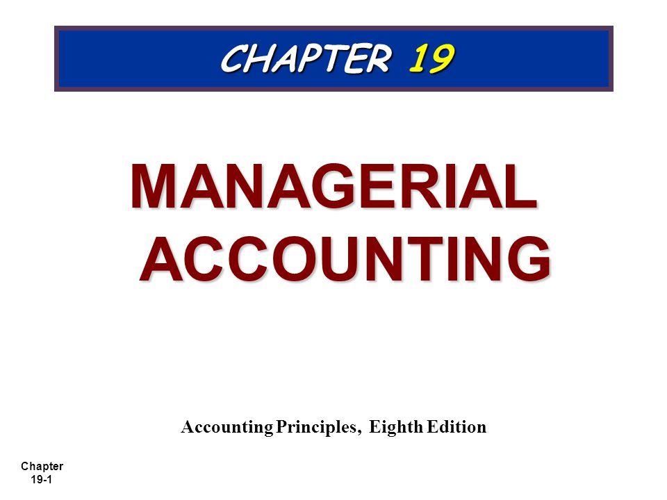 Managerial accounting accounting principles eighth edition ppt managerial accounting accounting principles eighth edition fandeluxe Choice Image