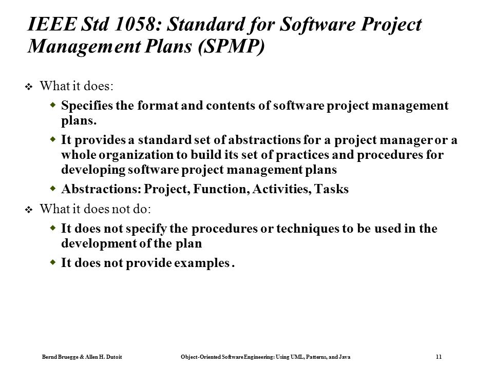 Object-Oriented Software Engineering - ppt download