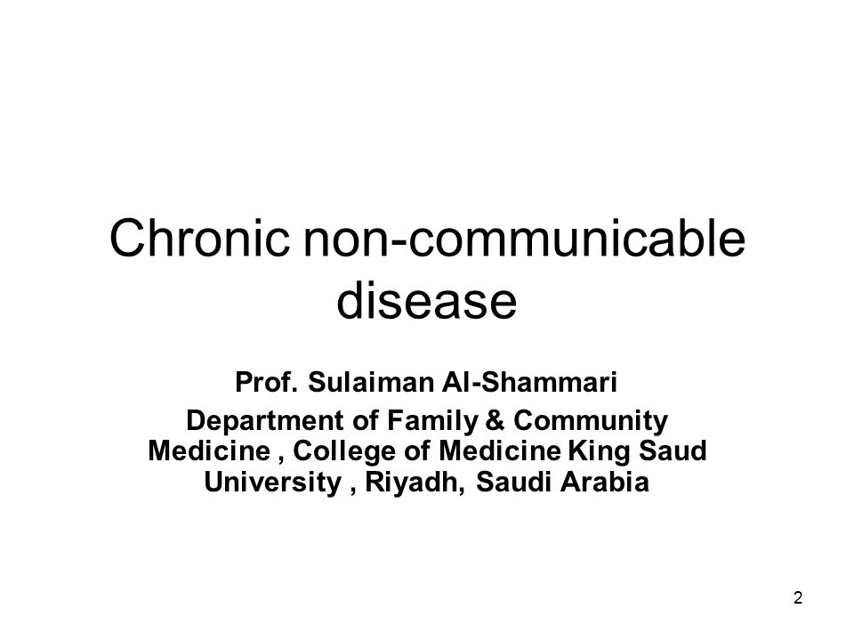 chronic non communicable diseases cncd The rise of chronic non-communicable diseases (cncd), mainly cardiovascular disease, obesity and cancer, has been assumed to be.