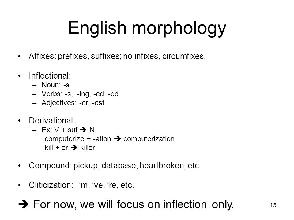 english morphology Academiaedu is a platform for academics to share research papers.