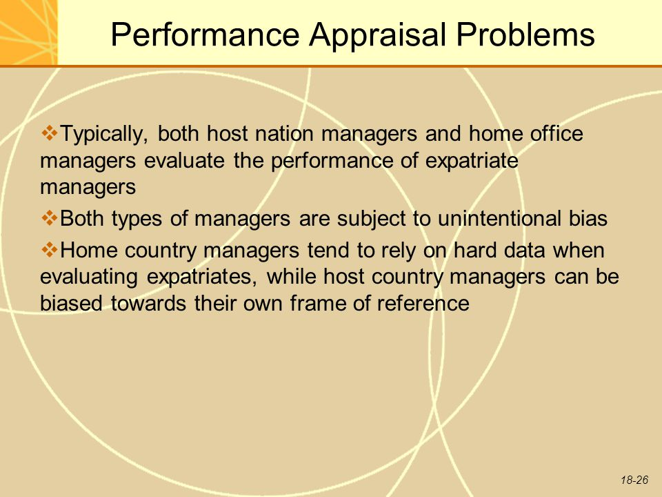 problems with the performance appraisal process Problems of clinical nurse performance appraisal  of clinical nurse performance appraisal system  performance appraisal process and problems.
