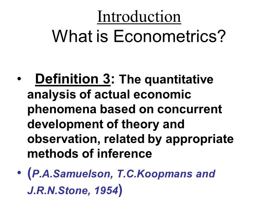 analysis of economic theories related to Be sure to read the follow-up post in july 2010 what are the 50 most important economic theories theories, but more general but related analysis, for the.