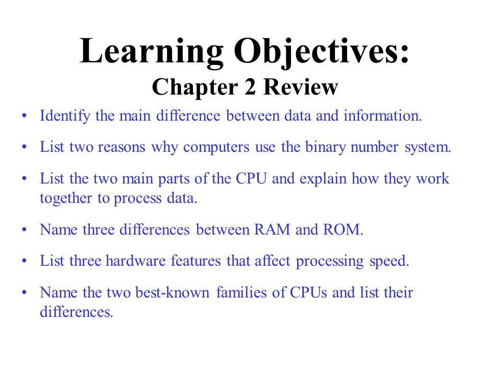 Chapter 2 Processing Data Peter Norton S Introduction To
