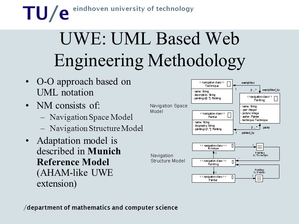 UWE: UML Based Web Engineering Methodology