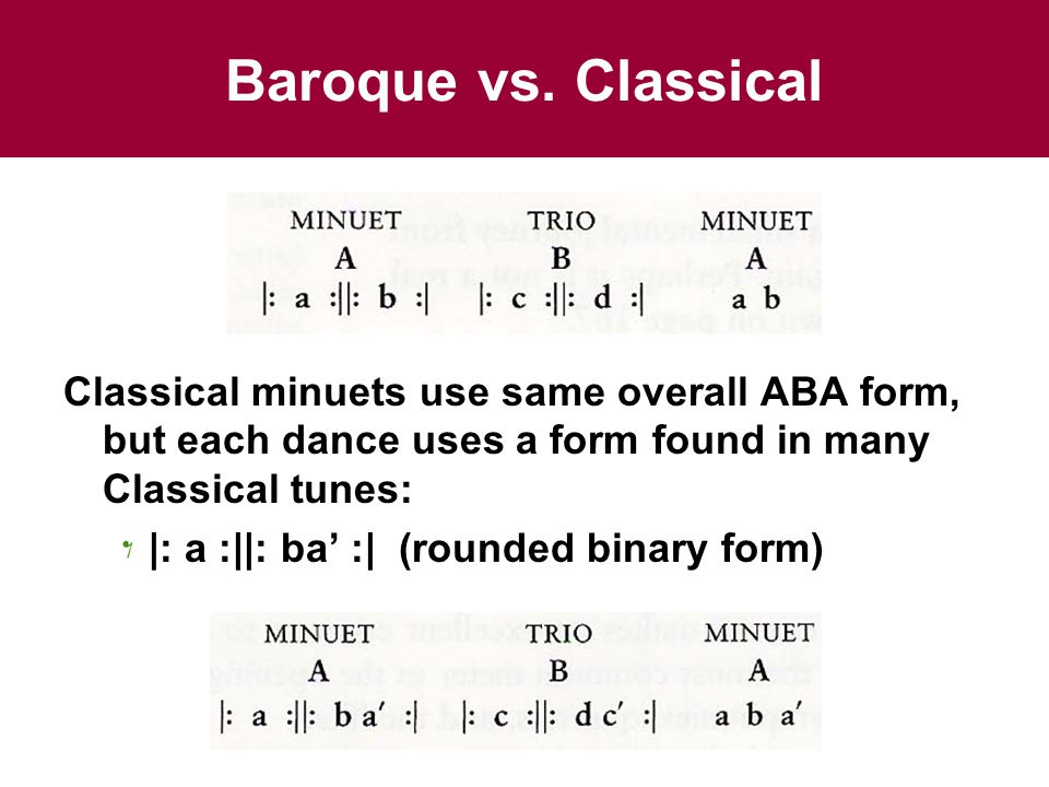 Chapter 12: The Symphony Minuet Form. - ppt video online download