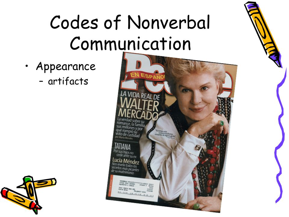 Codes of Nonverbal Communication