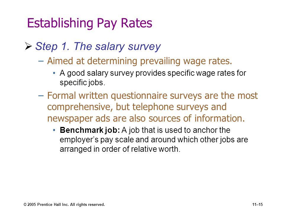 Establishing Strategic Pay Plans ppt download – Salary Survey Questionnaire