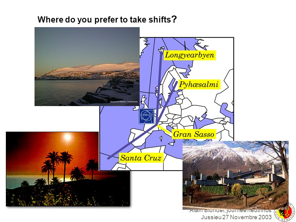 Where do you prefer to take shifts