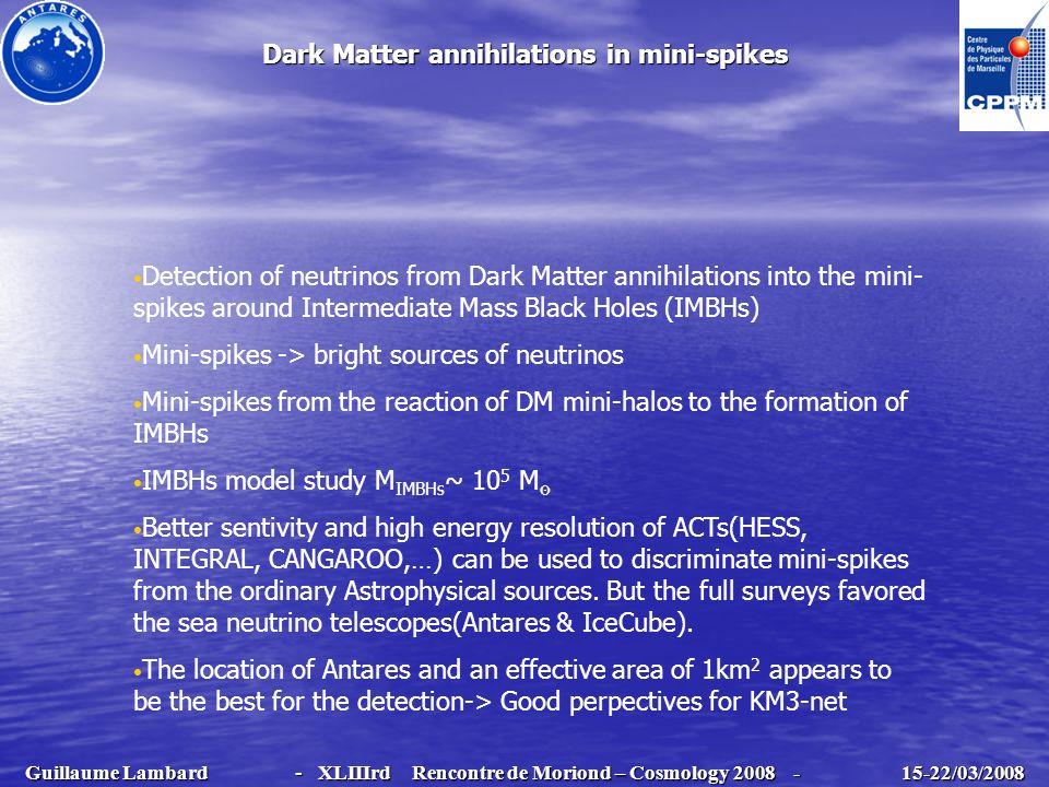 Dark Matter annihilations in mini-spikes