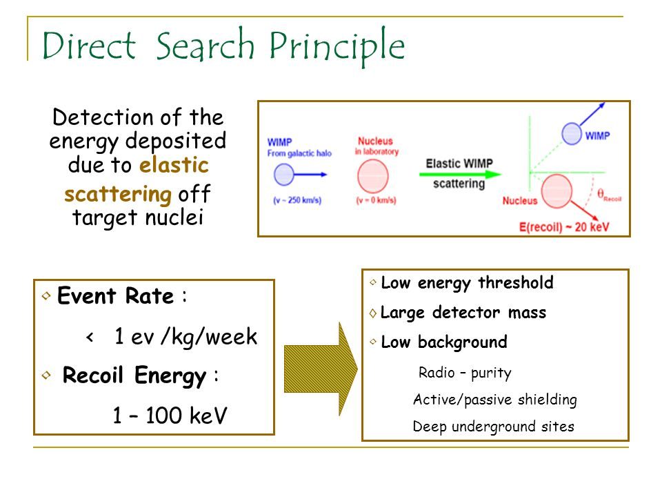 Direct Search Principle