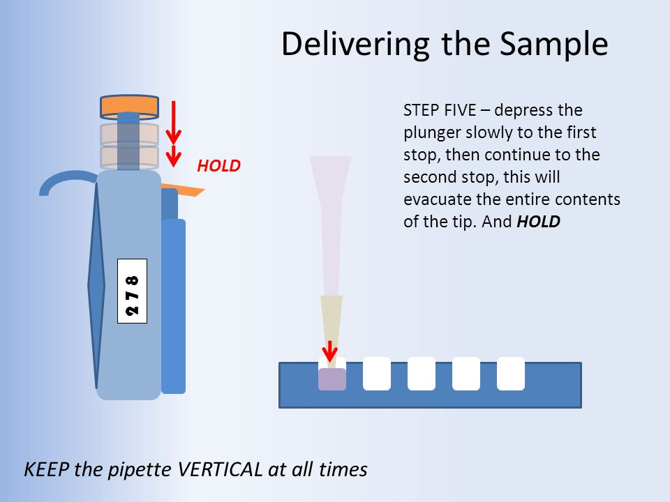 how to use a pipette step by step