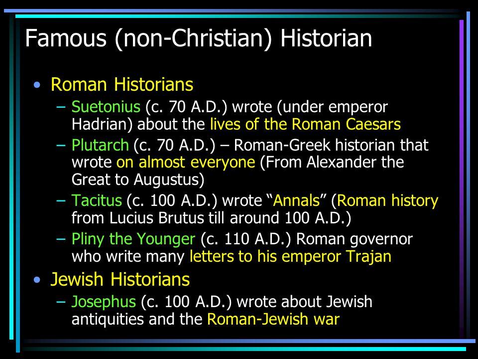 Famous (non-Christian) Historian