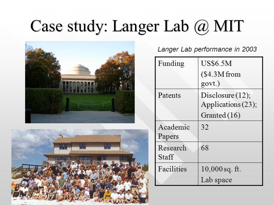 mit case study You will learn from leading experts how engineering fundamentals connect to real-world application by examining case studies, touring facilities, and showing real pieces of biomanufacturing equipment in action.